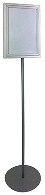 Steel lollipop stand small