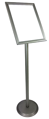 info board lollipop stand small