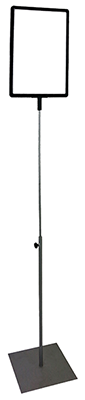 Slim lollipop stand telescopic small